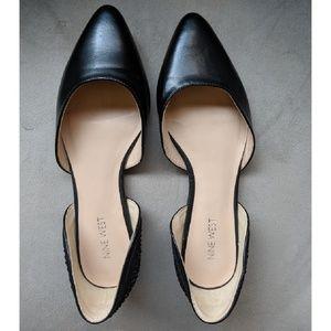 Nine West Shoes - Nine West black d'orsay flats